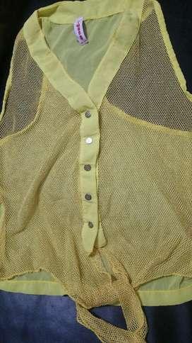 Blusa Nueva Color Amarillo
