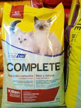Alimento Gato adulto Vital Can Complete 7,5k