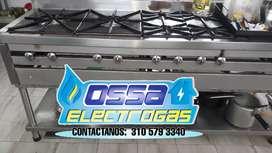 Estufas industriales, fugas de gas, instalaciones de gas, hornos industriales