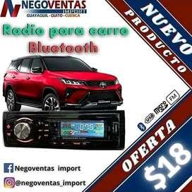 Radio Bluetooth para carro