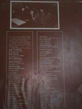CONCIERTO DE TRES DISCOS ( FALTA 1 DISCO) QUE HIZO HISTORIA MUNDIAL George Harrison organizó el Concierto por Bangladesh