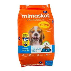 Comida Para Perros Mimaskot Para Cachorros Bolsa 15kg