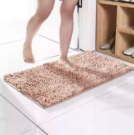 Tapete de microfibra para baño