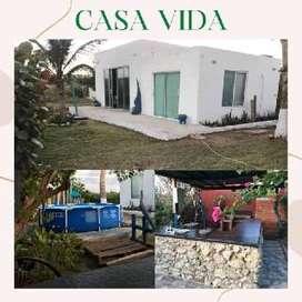 CASA VIDA hermosa cabaña en SABANILLA