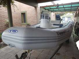 VENDO SEMIRRIGIDO VIKING 5,20 C/Mercury 60 HP 4T