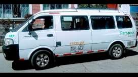 Venta de microbus servicio especial