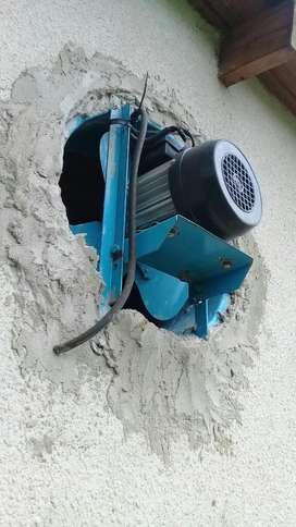 Extractor de Aire de Medio Caballo Fuerza