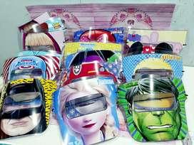 Mascara facil protectora niños