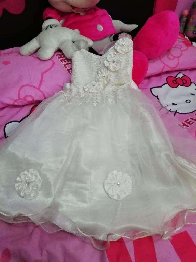 Hermoso Vestido de Princesa Blanco 0