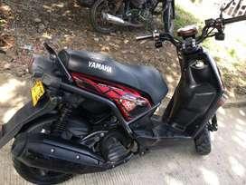 se vende moto bws 125 modelo 2017 unico dueño