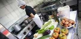 Cocinera para menu diario