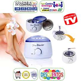 Calentador De Cera TV Depilatoria 500g Pro Wax 100 Nuevos, Originales, Garantizados..