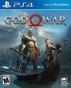 God Of War Playstation 4 Ps4, Físico