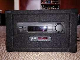Amplificador sony con modulo USB, Bluetooth y radio fm