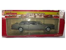 VINTAGE FABULOSA Limousine Cadillac gris / negra  de Colección Escala 1 / 32 MADE IN FRANCE *** UNICO PRECIO***