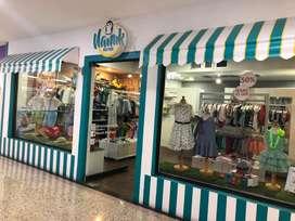 Se vende negocio de ropa para niños