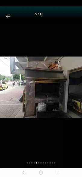 Vendo horno para asadero de pollos