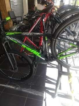Bicicleta ONTRAIL en aluminio