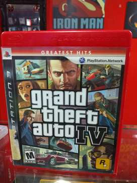 GTA 4 PS3 fisico