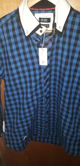 "Camisa ""no end"" original Talle XL"