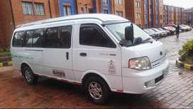Venta camioneta servicio especial pasajeros