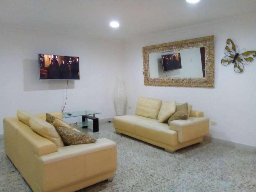 Disponible apartamento amoblado por dias en Cartagena. 0