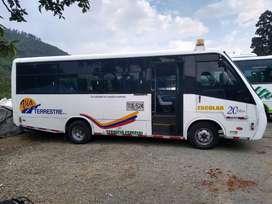 Bus servicio especial nissan tk55 modelo 2013