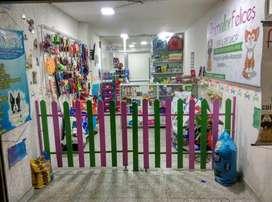 Ganga Rentable se vende Pet Shop -Pet Spa -Tienda De Mascotas: Baño, Accesorios y Comida ubicada en el barrio Valladolid