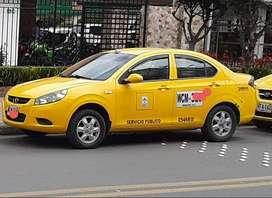 Taxi JAC modelo 2014 con cupo