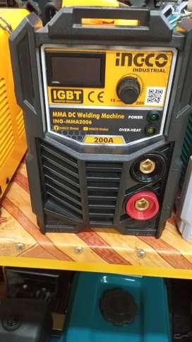 Soldadora inverter Ingco 200 amp