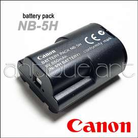 A64 Bateria Nb-5h Canon Powershot A5 A50 D350 S10 S20 600