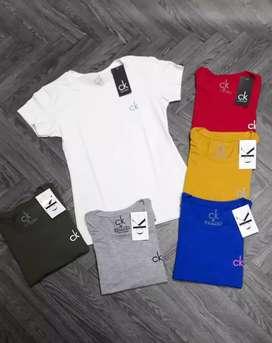 Camiseta para dama en algodón licrado