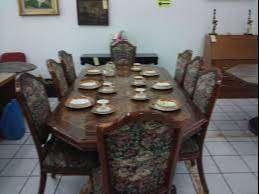 Se vende juego de comedor Luis XV(caoba) y vestidor