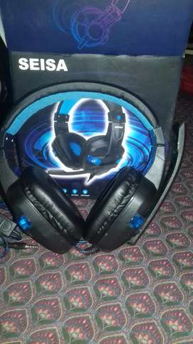 Audifonos gamers con luces