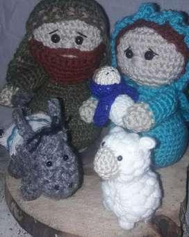 Pesebres a crochet