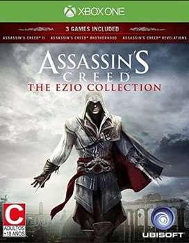 Assassins Creed The Ezio Collection Xbox One, Físico