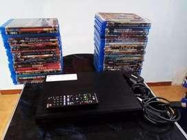 Blueray Lg colección 55 discos como nuevos