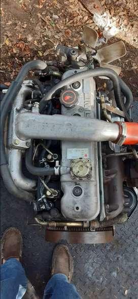 Caja y motor