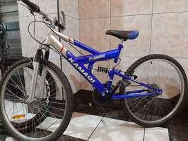 Bicicleta rin 26 doble suspensión