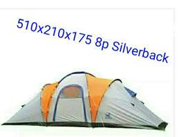 Carpa Silverback Nueva sin Uso 510x210x1