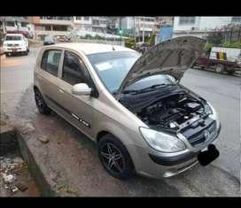 Auto Hyundai Getz 2009, Cilindraje 1.6 - Color Beige - 193000 km