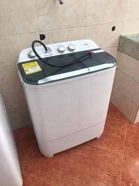 Lavadora semiautomatica
