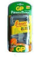 CARGADOR BATERIAS GP Powerbank Cargador Universal NiMH