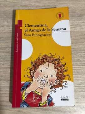 Clementina, el Amigo de la Semana