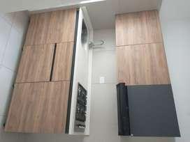 Arriendo Apartamento Teusaquillo. 2 Habitaciones y garaje. Remodelado