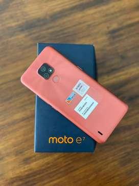 Motorola E7 nuevo