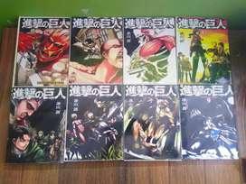 Mangas de diferentes animes (naruto, one piece, SNK, to love ru, Mirai Nikki, etc)