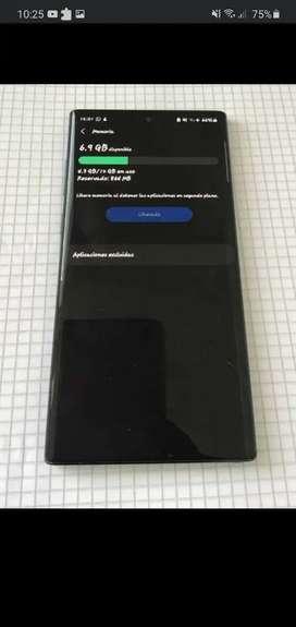 Samsung galaxy note 10 plus de 12 ram y 256gb memoria