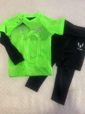 Conjunto deportivo marca Adidas Messi talla 3