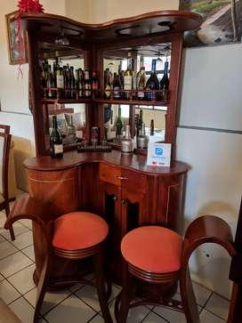 Mini Bar en madera